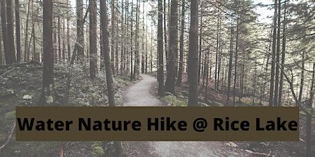 Water & Nature Walk (Rain or Shine!) tickets