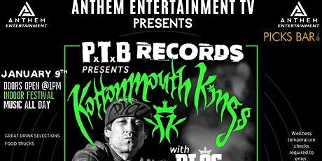 Kottonmouth Kings 25th Anniversary Legacy Show tickets