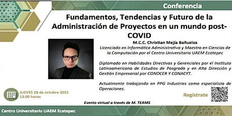 Fundamentos y Futuro de la Administración de Proyectos  post-COVID. entradas