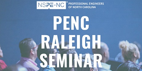 PENC Raleigh Seminar 2021 (Virtual & In-Person) tickets