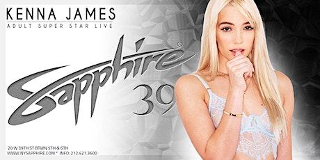 Kenna James Live at Sapphire New York tickets