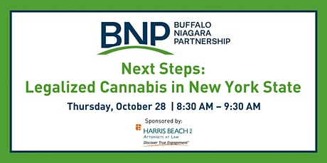 Next Steps: Legalized Cannabis in New York State tickets