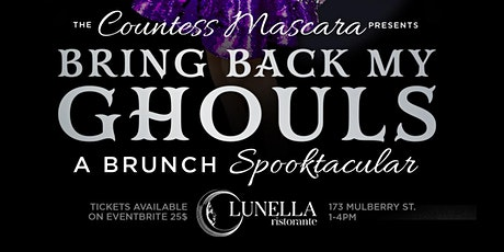 Bring Back My Ghouls: Halloween Drag Brunch Presented by Countess Mascara tickets