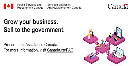 Sell your goods and services to the federal government tickets