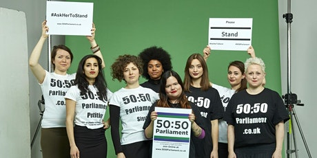 50:50  from the House of Commons - Ask Her To Stand! tickets