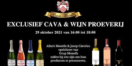 Exclusief Cava & Wijn Proverij tickets