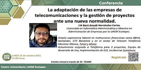 Adaptación de las empresas de telecomunicaciones y gestión de proyectos tickets