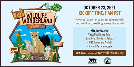 P-22 Day Festival:  Friends of Griffith Park's Wildfire Recovery Hike tickets