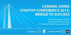 Startup Conference 2015: Bridge to Success