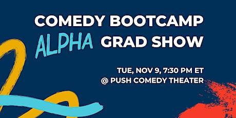 Comedy Bootcamp Alpha Graduation Show — Hampton Roads tickets
