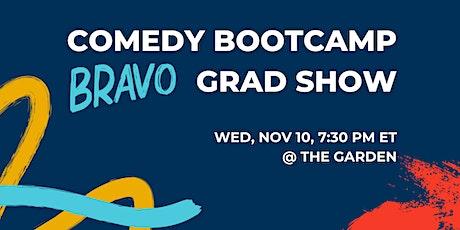 Comedy Bootcamp Bravo  Graduation Show — D.C. tickets