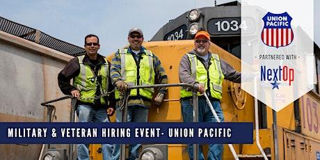 Union Pacific Veteran Hiring Event tickets