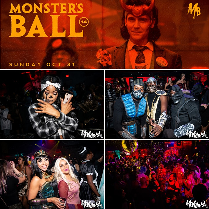 MONSTERS BALL 2021 | Toronto's Best Halloween Party image