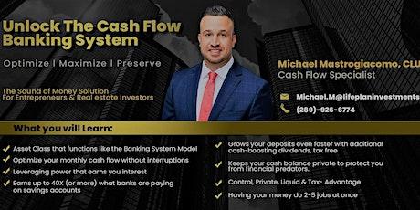 Unlock The Cash Flow Banking System for Entrepreneurs tickets