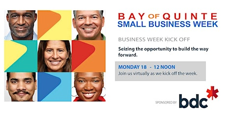 Bay of Quinte Small Business Week KICK OFF tickets