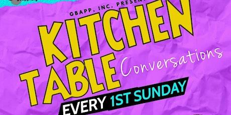 Kitchen Table Conversations tickets