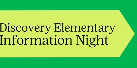 Join Girl Scouts-Discovery Elementary Information Night tickets