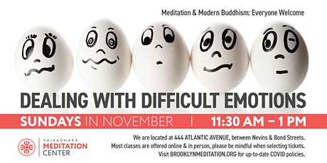 Dealing with Difficult Emotions: Sundays in November (HYBRID) tickets