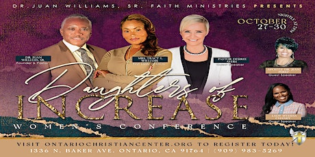 **VENDOR OPPORTUNITY** 2021 DAUGHTERS OF INCREASE CONFERENCE tickets