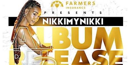 NikkiMyNikki Album Release Party tickets