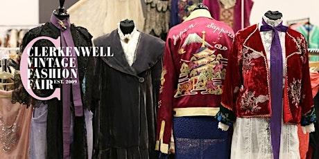 Clerkenwell Vintage Fashion Fair tickets