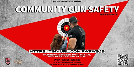 Community Gun Safety Session 3 tickets