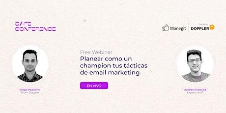 Planear como un champion tus tácticas de email marketing digital entradas