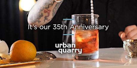 Urban Quarry 35th Anniversary November 4, 2021 tickets