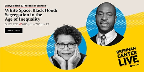 White Space, Black Hood: Segregation in the Age of Inequality tickets
