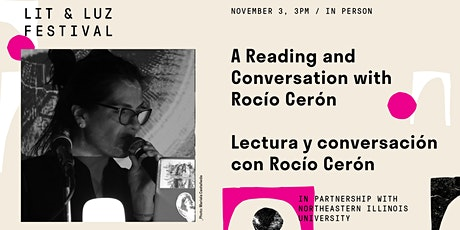 A Bilingual Performance by Mexican Poet & Multimedia Artist Rocío Cerón tickets