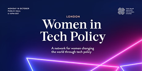 Women in Tech Policy - London Networking Event tickets