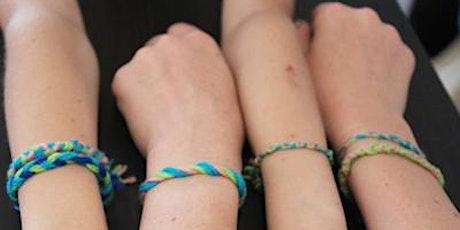 Bracelet Workshop - Taller recomendado para niños mayores de 10 años tickets