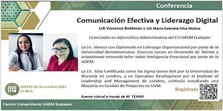 Comunicación Efectiva y Liderazgo Digital entradas
