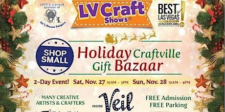 Shop Small Holiday Craftville Gift Bazaar tickets
