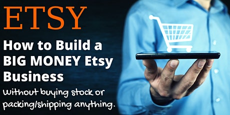 Learn How To Set Up A Successful ETSY Shop - Insider Secrets tickets