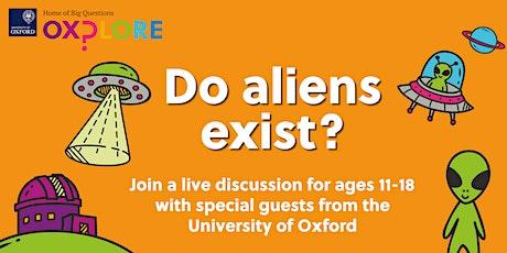 Oxplore Live: Do aliens exist? tickets