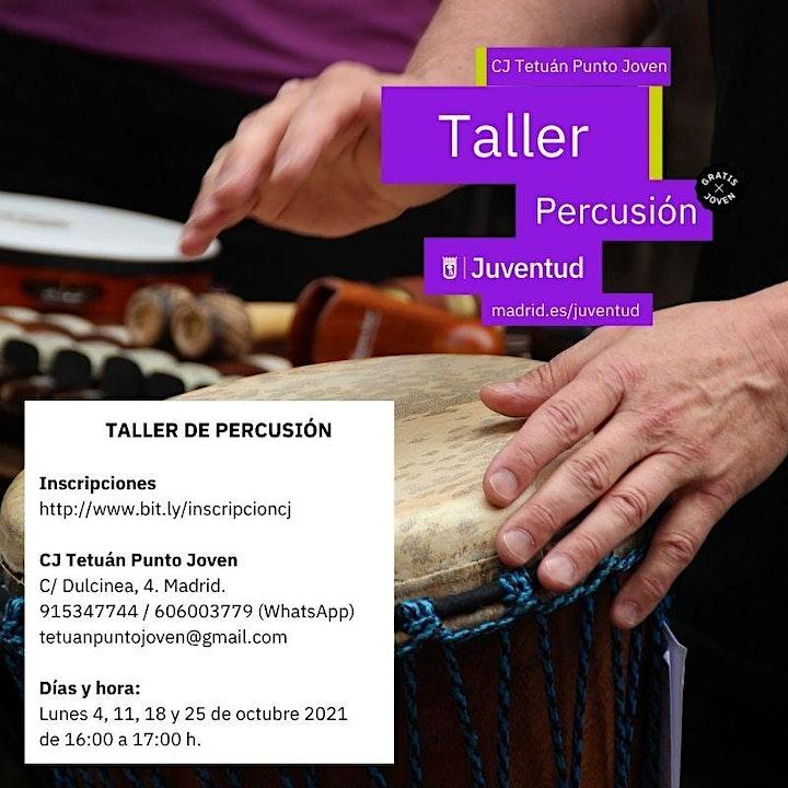 Imagen de Taller de percusión