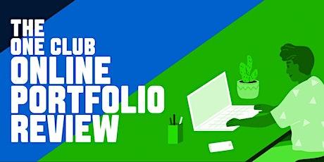 The One Club for Creativity: Fall Portfolio Reviews tickets