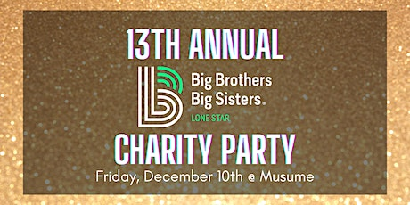 Big Brother Big Sister  Charity Party tickets