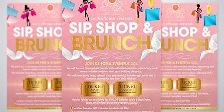 Sip, Shop & Brunch tickets