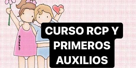 CURSO RCP Y PRIMEROS AUXILIOS EN VIVO entradas