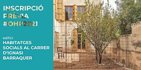 EDIFICI / Habitatges socials al carrer d'Ignasi Barraquer entradas