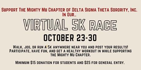 Virtual 5K Fundraiser tickets