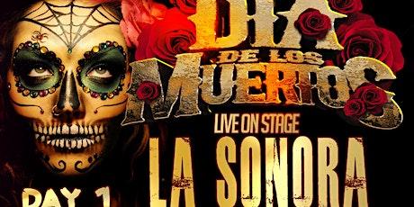 La Sonora Dinamita full band  Dia de los Muertos Friday November 5 tickets