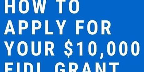 SBA $10,000 - $15,000 grants for small businesses are still AVAILABLE tickets