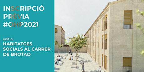EDIFICI / Habitatges socials al carrer de Brotad entradas