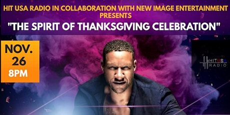 """""""The Spirit of Thanksgiving Celebration"""" with R&B Icon Tony Terry tickets"""