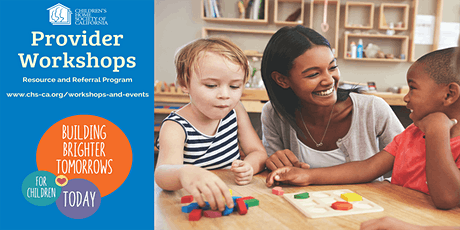 Provider Workshop: Making a Difference for Children with Special Needs tickets