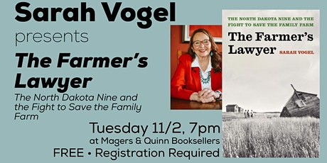 Sarah Vogel presents The Farmer's Lawyer tickets
