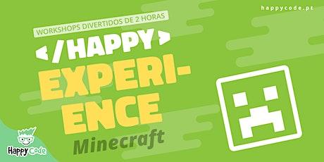 HAPPY EXPERIENCE - MINECRAFT FISHING(Presencial Happy Code C. Ourique) bilhetes